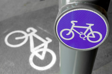 cycling sign