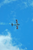 aircraft at an airshow poster