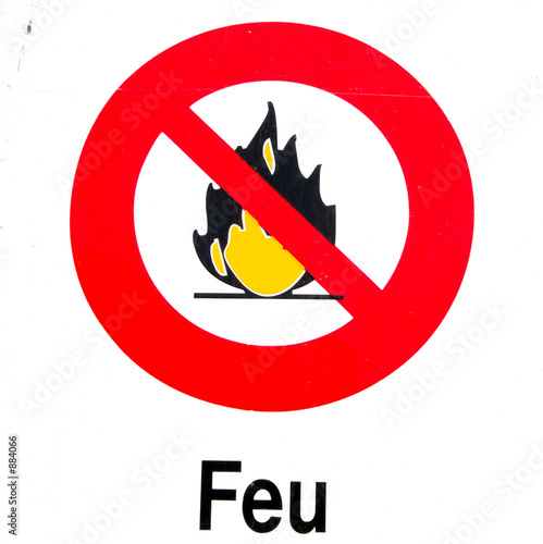 interdiction feu