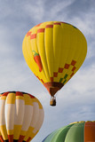 hot air balloon series 02 poster