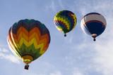 hot air balloon series 10 poster