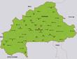 map burkina faso landkarte burkina faso