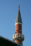 a mosque minaret poster