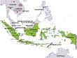map indonesia landkarte indonesien