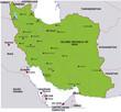 map iran landkarte iran