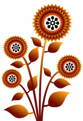 vector of plant flower 3