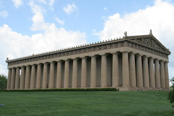 parthenon side view