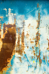 blue and rust grunge background