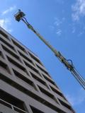 emergency rescue crane poster