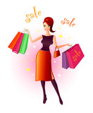 joy of shopping poster