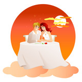 on cloud nine - the perfect date poster