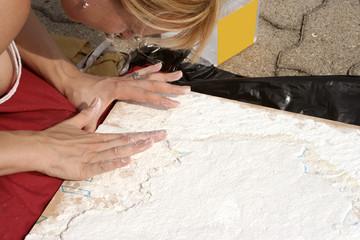 plaster artist