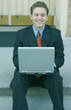 businessman with laptop 83