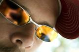 sunglasses closeup poster