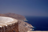greek island view poster