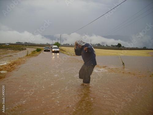 route inondée - 901200