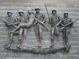 korean war memorial in atlantic city poster
