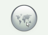 world web button poster