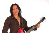 guitar woman twenty poster