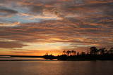 sunset,cedar key,florida,travel,nature,leisure,co poster