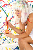 paint splash poster