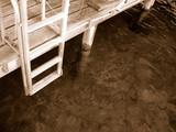 dock steps poster