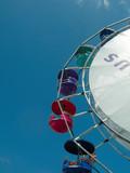 ferris wheel at montreal formula 1 race poster