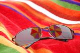 beach sunglasses poster