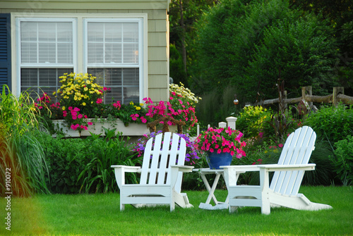 Lawn Furniture on Two Lawn Chairs    Elenathewise  910072   See Portfolio
