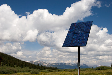 solar panel in the sky ii