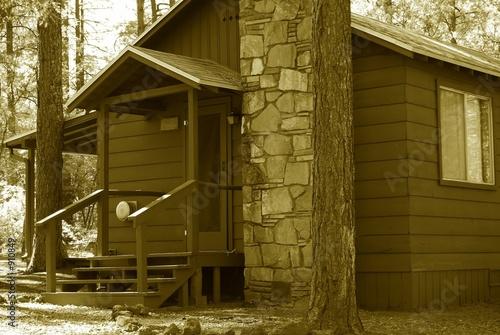rustic cabin 3 poster