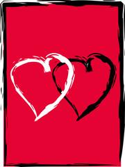 coupled hearts
