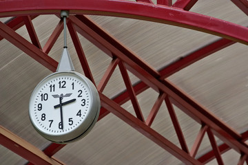 railway station clock
