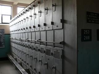colliery locker room