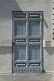 strong wooden door poster