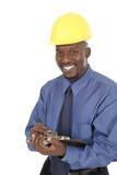happy smiling architect engineer 1 poster