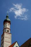 church rising tower poster