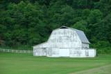 white barn poster