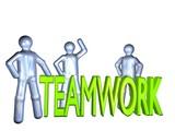 teamwork ist alles poster