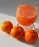 oranges and orange juice poster