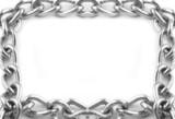 chain links frame poster