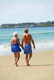 happy retired couple poster
