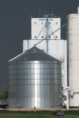 elevator and grain bin