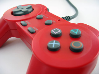 red controller