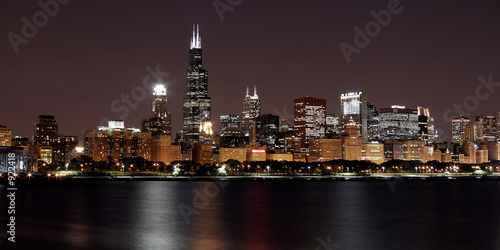 Papiers peints Grands Lacs chicago cityscape