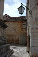 street in european town