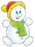 snowball kid poster