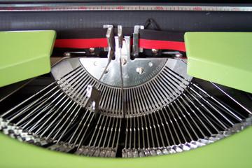 working typewriter