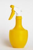 yellow spray bottle poster