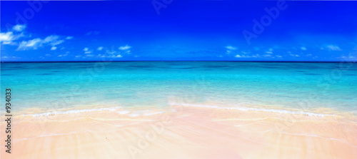 canvas print picture tropical beach - lanikei
